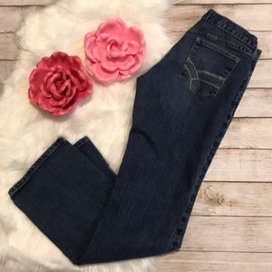 Gap boy cut jeans 10 long